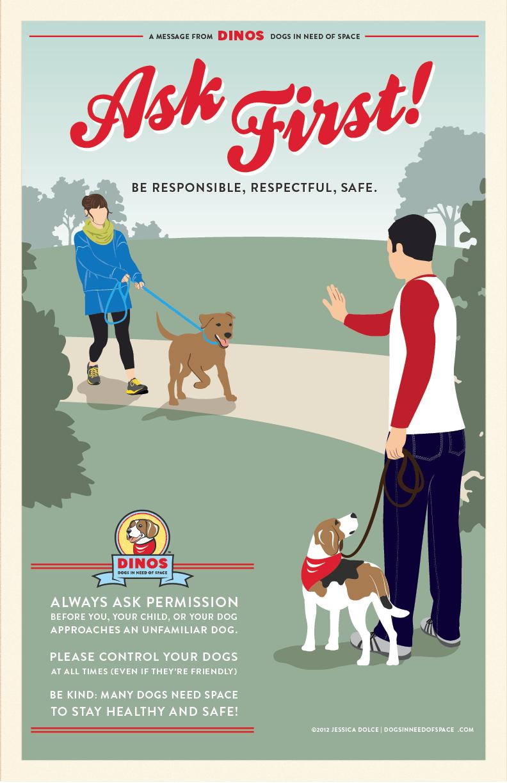 DINOS_PSA_poster_11x17  Pet Poster